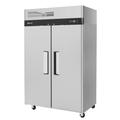 Turbo Air M3R47-2 M3 Series 52 Inch Wide 42.3 Cu. Ft. Reach-In Solid Dual Door Refrigerator