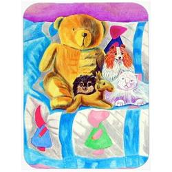East Urban Home Party Poms on the Couch Pomeranian Glass Cutting Board Glass, Size 0.15 H x 15.38 W x 11.25 D in   Wayfair