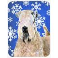 The Holiday Aisle® The Holiday Aisle Ashlynn Soft Coated Wheaten Terrier Glass Cutting Board Glass, Size 0.15 H x 11.25 W x 15.38 D in   Wayfair
