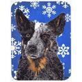 The Holiday Aisle® The Holiday Aisle Ashlynn Australian Cattle Dog Glass Cutting Board Glass, Size 0.15 H x 11.25 W x 15.38 D in   Wayfair