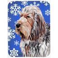 The Holiday Aisle® The Holiday Aisle Ashlynn Otterhound Glass Cutting Board Glass, Size 0.15 H x 11.25 W x 15.38 D in | Wayfair