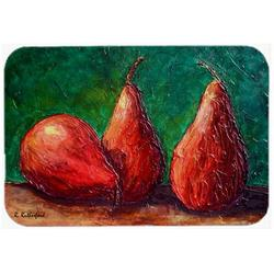 Red Barrel Studio® Red Barrel Studio Donohoe Pears Glass Cutting BoardGlass, Size 0.15 H x 15.38 W x 11.25 D in | Wayfair
