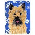 The Holiday Aisle® The Holiday Aisle Ashlynn Cairn Terrier Glass Cutting Board Glass, Size 0.15 H x 11.25 W x 15.38 D in | Wayfair