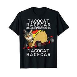 Tacocat Racecar Crazy Mexican Food Fast Car Funny Taco Shirt T-Shirt