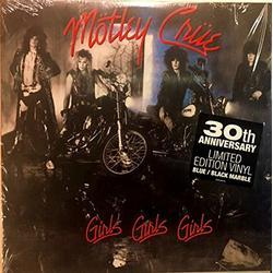Girls, Girls, Girls - 30th Anniversary Limited Edition Blue & Black Marble Vinyl