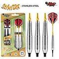 Shot! Darts Scimitar-Soft Tip Dart Set-18gm-Front Weighted-Stainless Steel Barrels