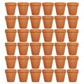 """Set of 36 Terra Cotta Pots! 3"""" x 2.95"""" Pots Perfect for Vegetable or Flower Gardens! 3 inch Clay Terra Cotta Pots! (36)"""