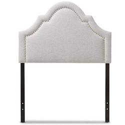 Baxton Studio Ritta Modern and Contemporary Upholstered Headboard Beige/Twin