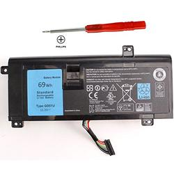 G05YJ Y3PN0 P39G 8X70T Alienware 14 Battery Compatible with Gaming Laptop Dell Alienware 14 A14 M14X R3 R4 14D 14D-1528 ALW14D ALW14D-5528 ALW14D-5728 ALW14D-1528 14D-5528 0G05YJ ALW14D ALW14D-4528