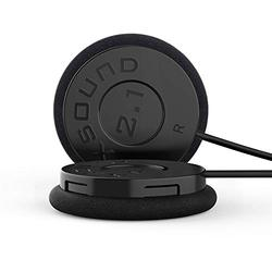 IASUS Drop in Helmet Headphones Full Range Audio and Bass for Helmet Communicators with a Earbuds Jack - The XSound 2.1 Helmet Speakers fit in Most Ski, Snowboard and Motorcycle Helmets