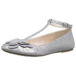 The Children's Place Girl's T-Strap Ballet Flats 2108046, Light Lavender, Youth 4 Child US Little Kid