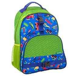 Stephen Joseph boys All Over Print Backpack, Transportation Kid s Backpack, Transportation, One Size US