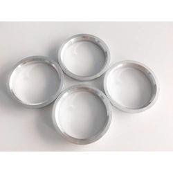 NB-AERO (Pack of 4) Aluminum Hub Centric Rings 66.56mm OD to 57.1mm ID | Hubcentric Center Ring Fits 57.1mm Vehicle Hub to 66.56MM Wheel Centerbore