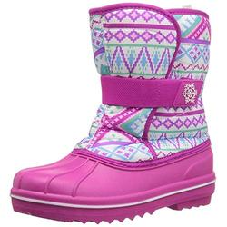 The Children's Place Girl's Snow Boot, Dynamic Lilac, YOUTH 6 Child US Little Kid
