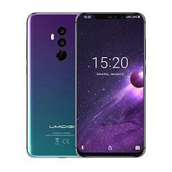 "UMIDIGI Z2 6.2"" FullView Display(19:9 Ratio)- 64GB ROM+6GB RAM Unlocked Cell Phone - Dual Sim 4G Volte Unlocked Smartphone -16MP+8MP Dual Camera - 3850mAh Battery -Android 8.1 Cellphone (Twilight)"
