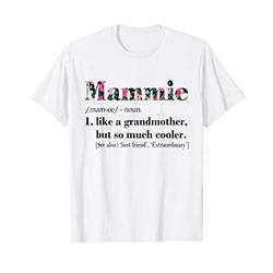 Womens Mammie Like Grandmother but So Much Cooler White