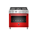Bertazzoni PROF366GAST Professional Series 36 Inch Wide 5.9 Cu. Ft. Free Standing Gas Range Red