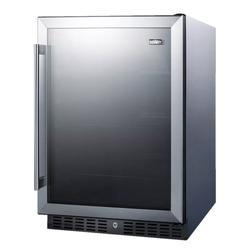 "Summit AL57GCSS 23 5/8"" W Undercounter Refrigerator w/ (1) Section & (1) Door, 115v"