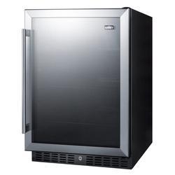 "Summit AL57G 23 5/8"" W Undercounter Refrigerator w/ (1) Section & (1) Door, 115v"