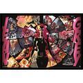 "Trends International 'X-Men Dark Phoenix' Graphic Art Print Format: Framed Black Poster, Paper in Brown/Pink/Black, Size Medium 25""-32"" | Wayfair"