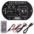 120W Car Subwoofer High Power HiFi Bass Bluetooth Amplifier Board Support FLAC APE WAV WMA MP3 Decoding DC 12V/ 24V/ AC100V-240V