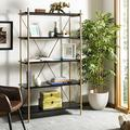 Safavieh Home Collection Rigby 5 Tier Etagere, Black/Gold