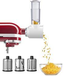 Slicer Shredder Attachment for KitchenAid Stand Mixers, Vegetable Slicer Attachment for Kitchenaid, Cheese Grater Attachment for KitchenAid by Gvode