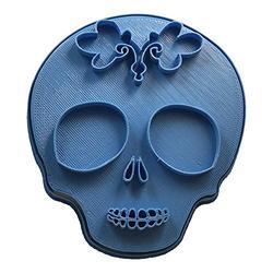Cuticuter Mexique 3 Moule De Biscuit, Bleu, 8 x 7 x 1.5 cm