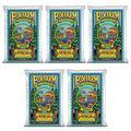 Foxfarm FX14000 Ocean Forest Indoor/Outdoor Garden Potting Soil Bags 6.3-6.8 pH, 1.5 Cubic Feet, 40 pounds for Plants (5 Pack)