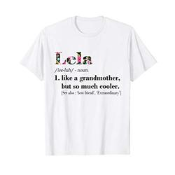 Womens Lela Like Grandmother but So Much Cooler White