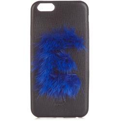 Leather Iphone® 6 Case - Blue - Fendi Cases