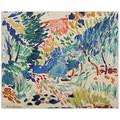 Artopweb TW21694 Matisse - Landscape At Collioure Panneaux Décoratifs, Multicolore, 80x66 Cm