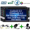 EinCar Wireless Backup Camera Included!Android 6.0 Car Stereo with External Micro Double Din 6.2'' Touch Screen Car DVD Player in Dash Bluetooth GPS Navigation Vehicle Radio Headunit