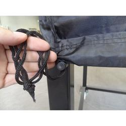 """Authentic Pizza Ovens Wood Pellet Maximus Prime Oven Grill Cover - Fits up to 28"""" Canvas in Black, Size 38.5 H x 39.0 W x 39.0 D in 