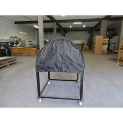Authentic Pizza Ovens Traditional Wood Fire Oven Cover Canvas in Black, Size 31.0 H x 39.0 W x 39.0 D in | Wayfair APOCOV