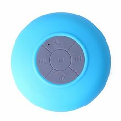 Beauty Acrylic Water Proof Bluetooth Speaker, Size 2.0 H x 3.5 W x 3.5 D in   Wayfair MS1- Blue