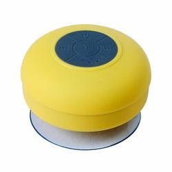 Beauty Acrylic Water Proof Bluetooth Speaker, Size 2.0 H x 3.5 W x 3.5 D in | Wayfair MS1- Yellow