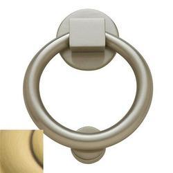 Baldwin Ring Door Knocker in Brown, Size 5.5 H x 4.25 W in   Wayfair 0195.060