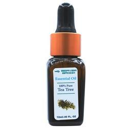 Beaver Brook Tea Tree Essential Oil Aromatherapy Dropper Bottle, Size 4.0 H x 1.0 W x 1.0 D in   Wayfair BBEO15-33173