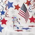 The Holiday Aisle® Patriotic Paper Decoration Kit Paper in Blue/Red   Wayfair A520CB6B04E246CCB3472F54A32B24C2