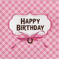 """Creative Converting Heart My Horse Birthday 6.5""""s Paper Disposable NapkinsPaper in Pink 