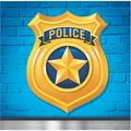 Creative Converting Police Party Beverage Disposable Napkin in Yellow | Wayfair DTC329384BNAP