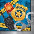 Creative Converting Police Party Napkin in Yellow | Wayfair DTC329385NAP