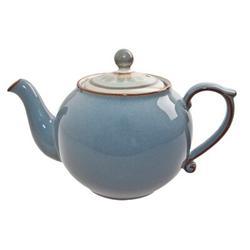 Denby Heritage Terrace Teapot Stoneware/Terracotta in Blue, Size 5.0 H x 4.0 W x 5.0 D in   Wayfair TER-091