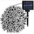 "Sol 72 Outdoor™ Santorini 68' Outdoor Solar Powered 200 - Bulb Wide Angle LED Mini String Light Bulb in White, Size 68""D | Wayfair"