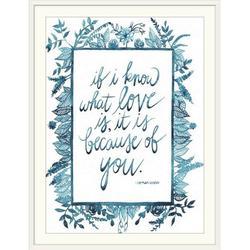 Red Barrel Studio® Nolff Love Quote II' Grace Popp Textual Art in Brown, Size 38.0 H x 30.0 W x 1.0 D in   Wayfair 2394928_21_22x30