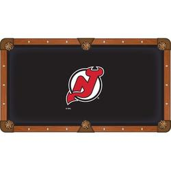 Holland Bar Stool NHL Pool Table Cloth, Size 104.0 H x 104.0 W in | Wayfair PCL7NJDevl