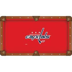 Holland Bar Stool NHL Pool Table Cloth, Size 104.0 H x 104.0 W in   Wayfair PCL8WshCap