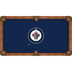 Holland Bar Stool NHL Pool Table Cloth, Size 104.0 H x 104.0 W in   Wayfair PCL8WinJet