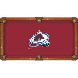Holland Bar Stool NHL Pool Table Cloth, Size 104.0 H x 104.0 W in | Wayfair PCL7ColAva